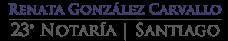 Notaria Renata Gonzalez
